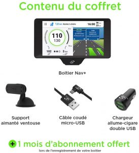Coyote NAV+ (France) - Assistant d'Aide à la Conduite - GPS