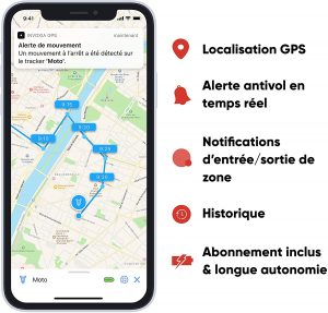 Traceur GPS voiture Invoxia