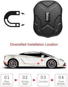 Traceur GPS voiture TkstarTk905