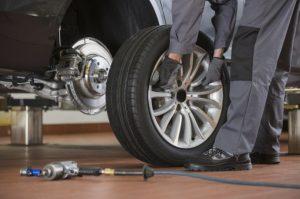 Remplacement de 2 pneus sur 4