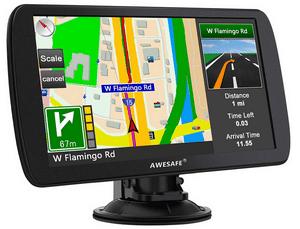 Test et avis sur le GPS camping car Awesafe