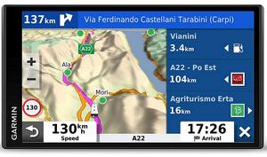 Test et avis sur le GPS camping car Garmin Camper 780 advanced