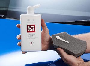 Avis efface rayure carrosserie Autoglym Super Resin Polish